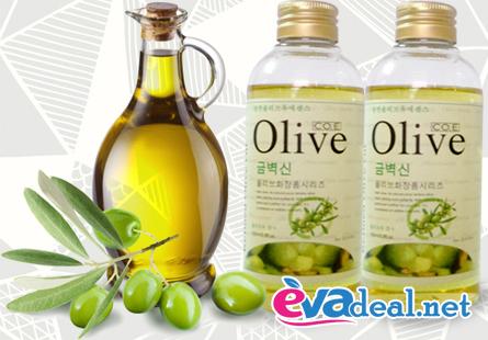 Tinh dầu olive massage