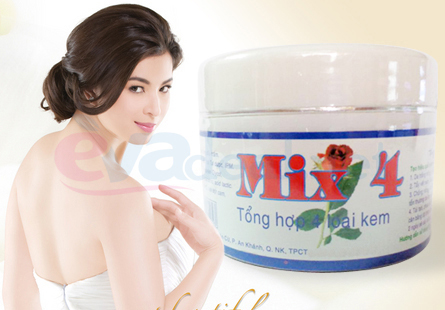Kem dưỡng trắng Mix 4
