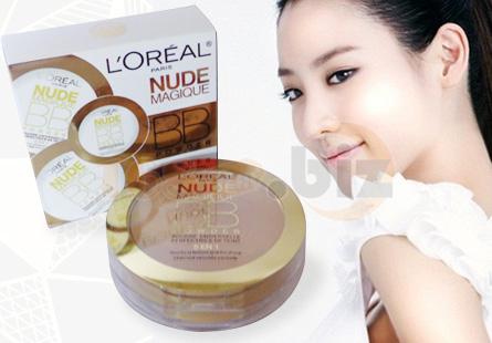 Phấn L'Oréal Nude Magique, BoShop