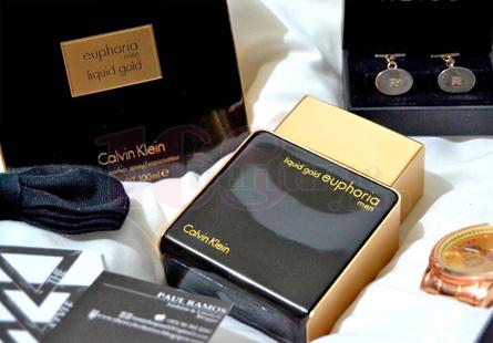 Nước hoa Calvin Klein Liquid Gold Euphoria Men