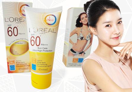 Kem chống nắng L'Oréal
