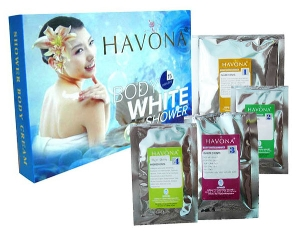 Tắm trắng Hanova Body White  Shower 4 in 1