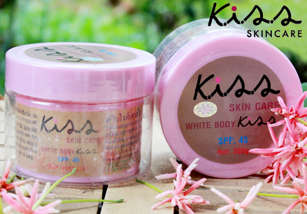 Kiss Skin Care White Body Kiss SPF45+, BoShop