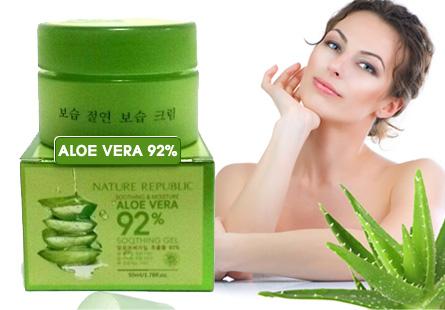 Kem dưỡng ẩm da Nha Đam Aloe Vera
