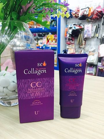 Kem lót makeup CC Cream Collagen