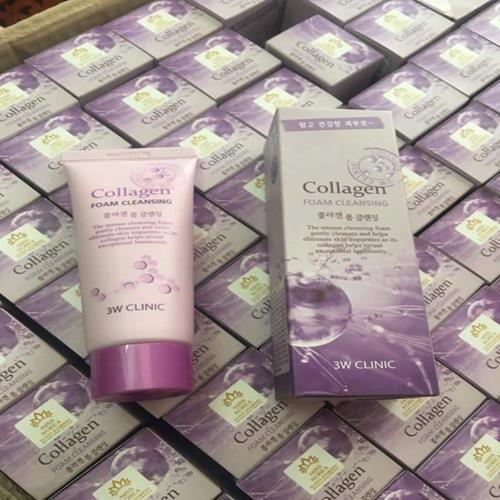 Sữa rửa mặt Collagen 3W Clinic