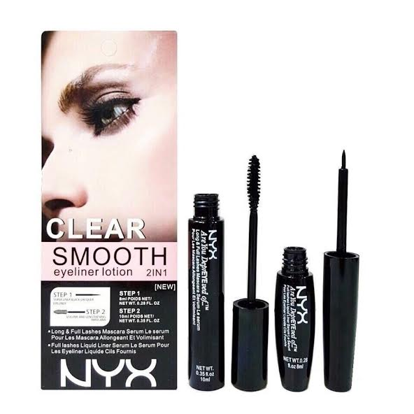 Bộ kẻ mắt NYX Clear Smooth