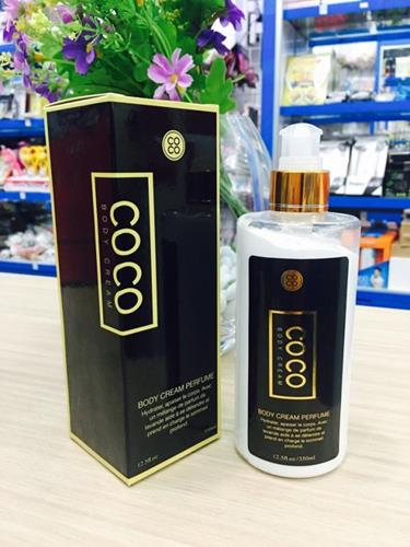 Kem dưỡng make up body Coco