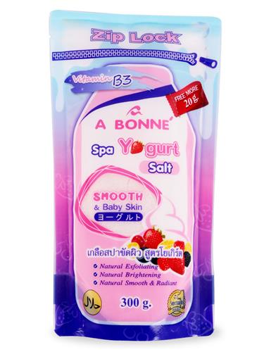 Muối tắm spa A Bonne Yogurt (Zip Lock) 300g