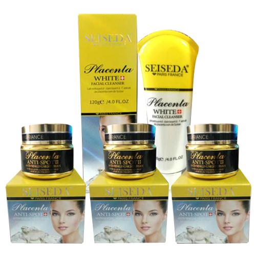 Bộ 4 sản phẩm chăm sóc da Seiseda