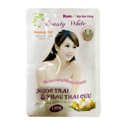 Kem bột tắm trắng Beauty White