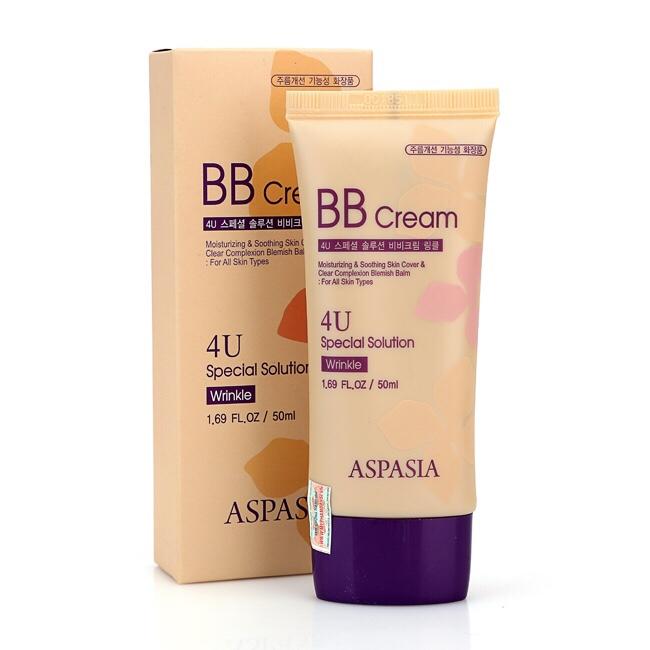 Kem nền Aspasia BB Cream 4U Special Solution Wrinkle