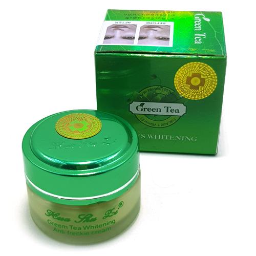 Kem trắng da Green Tea Hua Shu Li 7 Days