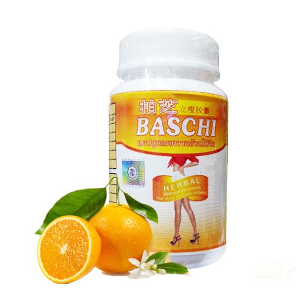 Viên uống giảm cân Baschi cam